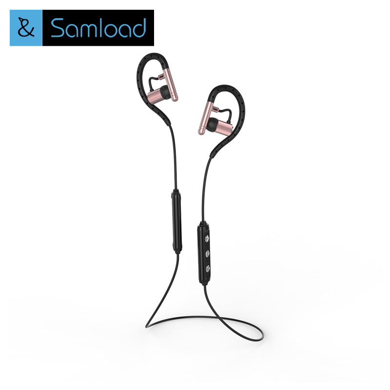Samload Sports Bluetooth Headset In-Ear Wireless Running Earphone Earbuds with Microphone for iOS and Android Xiaomi phone