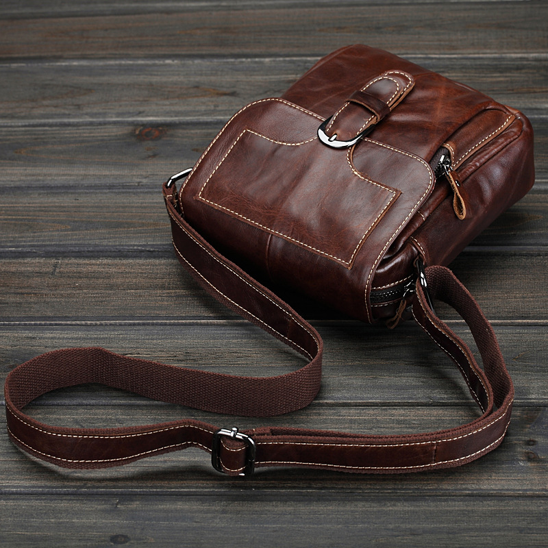 2018 Genuine Leather Unisex Men Women's Cross Body Shoulder Sling Bag Small Mini Handbag Messenger Bag For Man Male female LS092 wire man bag 2017 handbag male shoulder bag cross body bag commercial document bag