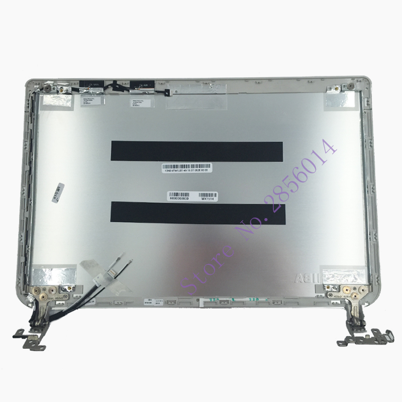 NEW Top cover For Toshiba Satellite E45T-B LCD Back Cover H000068600 13N0-VPA1U01 silver vipower vpa 35018nas 0 e