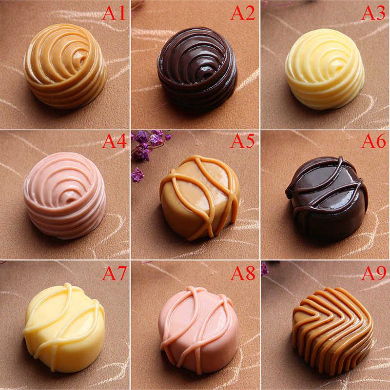 Nevera moderna comida de imitación Chocolate Linda Calcomanía para refrigerador Aimant Frigo cocina decoración del hogar Accesorios