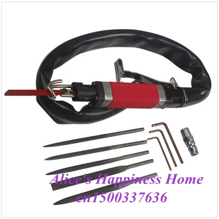 Air Cutting Tool Dual Function Pneumatic Body Saw Pneumatic File Reciprocating Machine