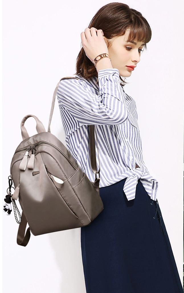 HTB11Mz8dpyZBuNjt jJq6zDlXXaE Mochilas mujer 2019 New Oxford cloth waterproof student bag Travel casual backpack women outdoor bag mochila feminina CL05