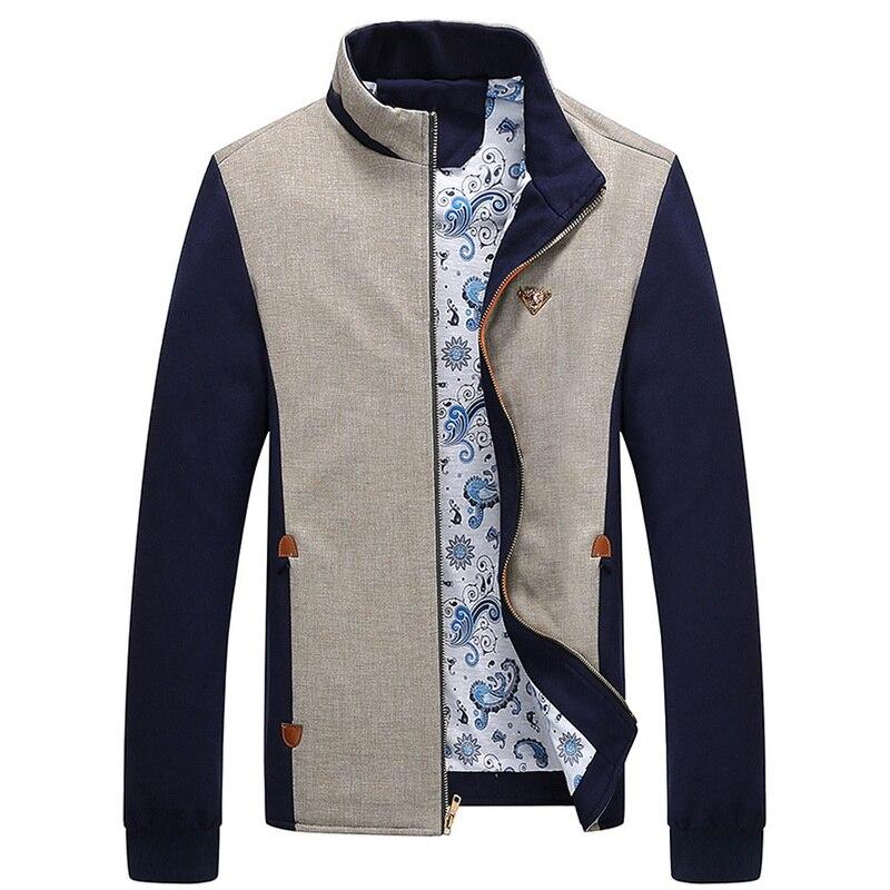 Online Shop Plus Size M-5XL Latest Style Jackets Men 2015 New ...
