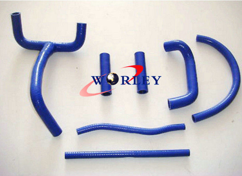 Blue High Temp Coolant Silicone Radiator Tubing Hose Fit KTM LC4 620 625 640 660