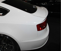 Osmrk unpainted ABS tail wing rear spoiler for Audi A5 2009 16 four doors