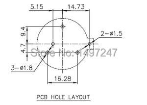 Image 5 - 5 sztuk/partia CR2430 bateria guzikowa komórki monety uchwyt gniazda w TBH CR2430 01