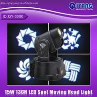 QY 3000 15w Spot Led Moving Head Light Family Party KTV Karaoke High Quality Cheap Price