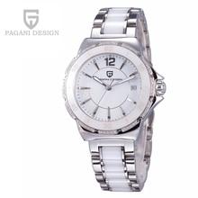 Часы Женщины Luxury Brand Многофункциональный Relojes Mujer 2016 Pagani Дизайн Кварцевые Наручные Спорт Погружение Watche 30 м Relógio Feminino