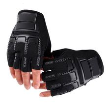 4 Colors 1pair High Quality Military Tactical Gloves Men Fighting Combat Half