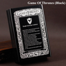 Game of Thrones – Gifts – Metal cigarette boxes
