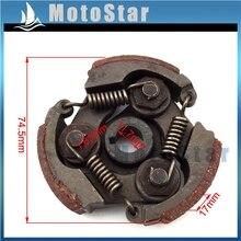 Heavy Duty Steel Clutch Pad For 2 Stroke 47cc 49cc Engine Pocket Bike Kids Dirt Crosser ATV Quad Minimoto Crosser