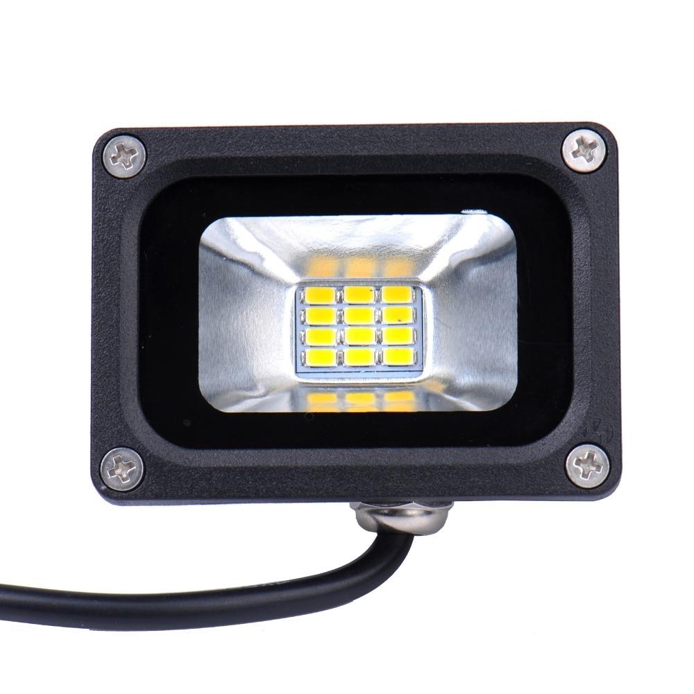 Led Flood Light Bulb Reviews: 1 Pieces Mini 12V 10W LED Flood Light Waterproof Floodlight Landscape Lighting  Lamp Warm White IP65 High Luminous Efficiency,Lighting