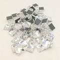 LNRRABC nuevo 100 unid/lote Plaza Strass piedras de imitación diamante coser abalorios para el vestido de boda de Arte de uñas no arreglo caliente