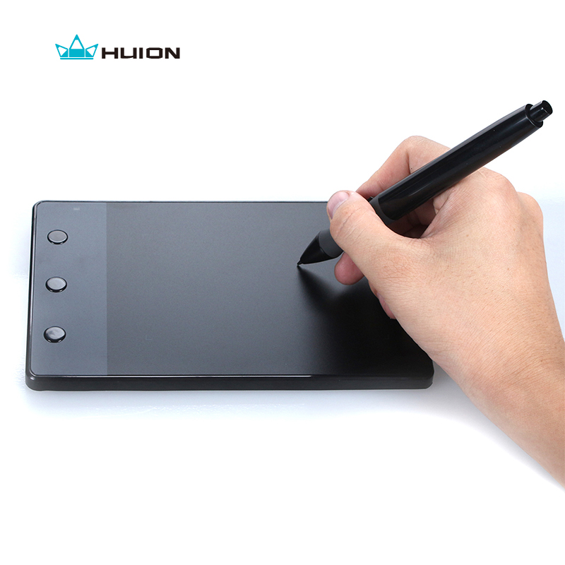 Free Shipping HUION H420 4 Inches Painting Tablet NEW Digital Tablets Professional Signature Tablet USB Graphics