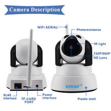 Wireless Dog Shaped Wi-Fi Smart Camera with Night Vision