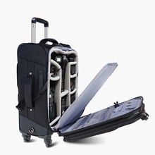 818e6355c6a8 BeaSumore SLR camera Rolling Luggage Large capacity professional  photography Suitcases Wheel Trolley backpack Cabin Travel Bag