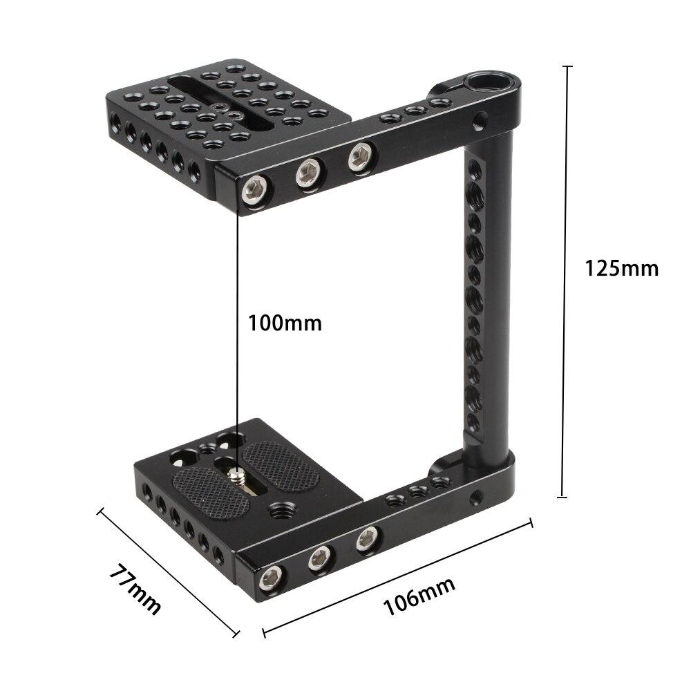 Βιντεοκάμερα CAMVATE DSLR Βιντεοκάμερα Cage - Κάμερα και φωτογραφία - Φωτογραφία 2