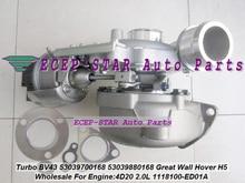 BV43 53039700168 53039880168 1118100-ED01A 1118100ED01 Turbo для Great Wall Hover H5 4D20 2.0L KM68 + Электрический привод управления