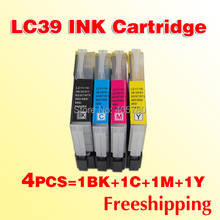 4x LC39 Ink cartridges for Brother LC985 DCP J315W MFC J415W MFC J220 DCP J125 printer