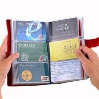 Hot Sale Business Card Holder Women Travel Passport Holder Genuine Leather Passport Cover ID Credit Card