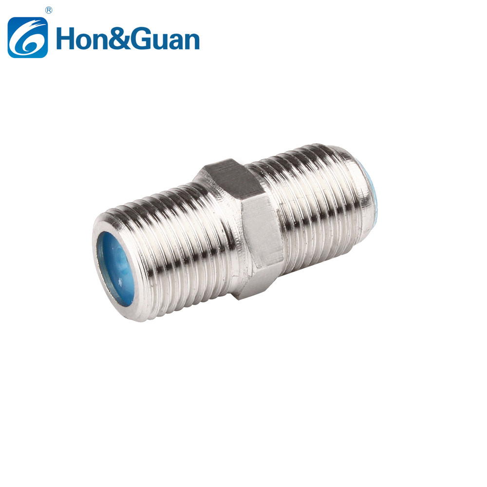 5Pcs RG6//RG59 Connector F Type Coupler Adapter Female F//F Coax Coaxial Cable Set