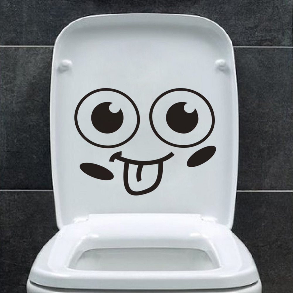 Face wallpaper reviews online shopping face wallpaper - Stickers deco wc ...