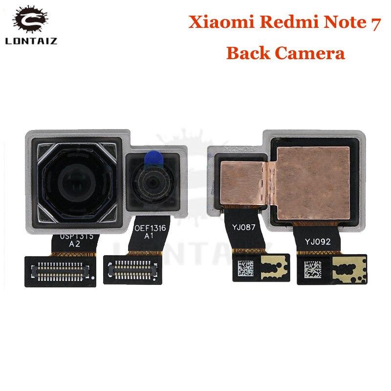 Original Tested Working Hongmi Note7 Big Main Dual Camera For Xiaomi Redmi Note 7 Pro Rear Back Camera Phone Flex Cable Parts