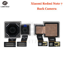 цена на Original Tested Working Hongmi Note7 Big Main Dual Camera For Xiaomi Redmi Note 7 Pro Rear Back Camera Phone Flex Cable Parts