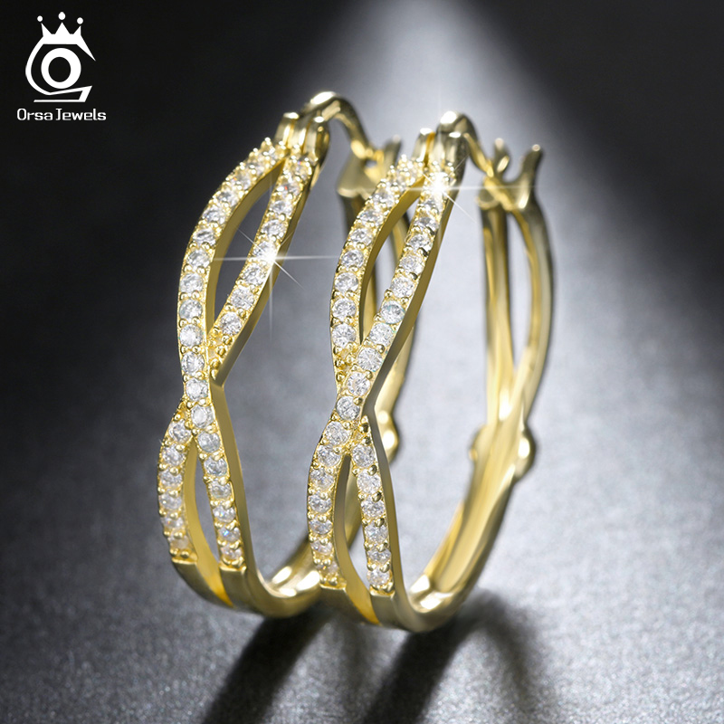 Fantastic Gold Ear Ring For Women Gold Hoop Earrings For Women