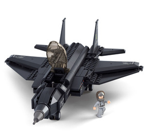 Wholesale 252pcs Building blocks Lightning 2 Fighter Fancy toys DIY Creative Educational Toys Boys Gift