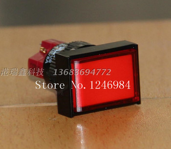 [SA]D16LAT1-1AB Taiwan Progressive Alliance interlocking red rectangle single button normally open normally closed switch DECA--