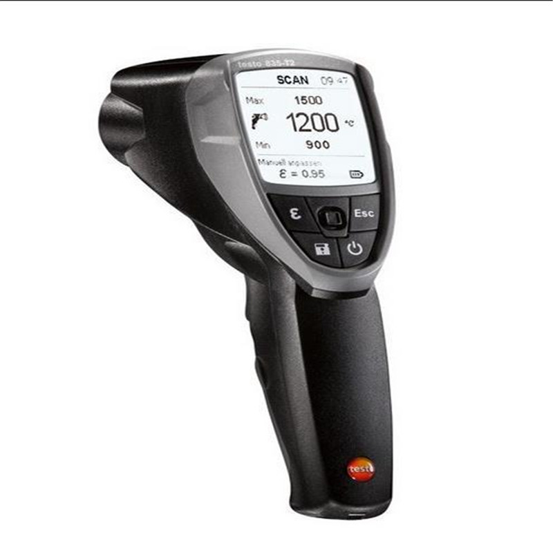 Infrared temperature measuring instrument testo 835-T2 - The pro when it comes to high temperatures пирометр testo 830 t2