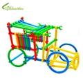 Children Educational Toys Boys Girls DIY Toys Kids Plastic Blocks Baby Smart Mini Sticks Free Drop Shipping Wholesale
