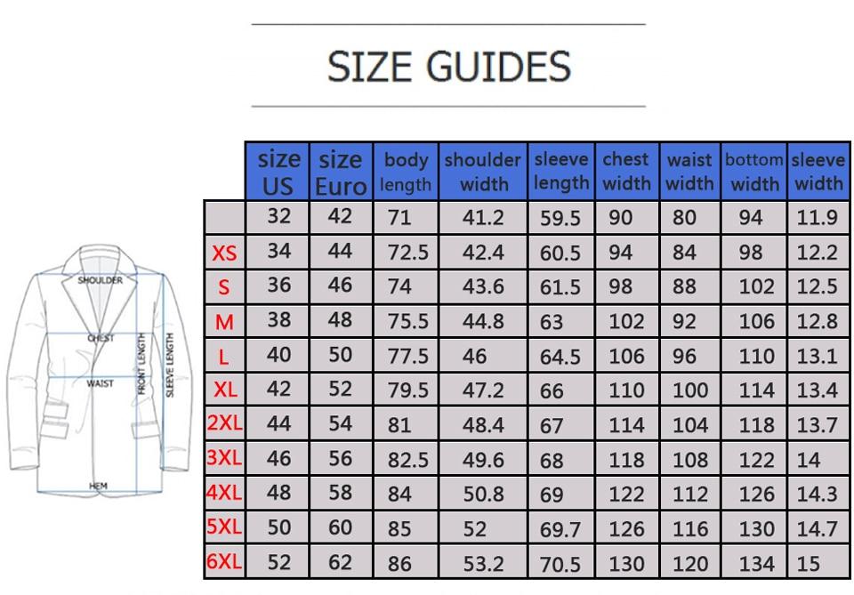 size-blazer
