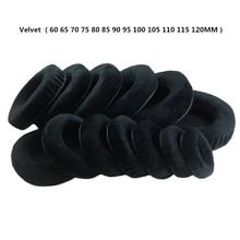 цены So Soft Velvet Foam Ear Pads Cushions 60 65 70 75 80 85 90 95 100 105 110 115 120MM For SONY For Audio-Technica for Sennheiser