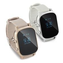 Купить с кэшбэком Smart Watch GPS Tracker T58 Personal GPS GSM Tracking Device SOS Button 53 Hours Standby Time GPS Bracelet One Key Calling SOS