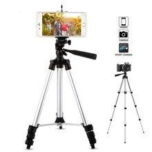 Переносной регулируемый штатив для телефона, фотокамеры Гибкая подставка держатель зажим комплект универсальные штативы для мобильного телефона для iphone samsung Z2