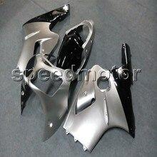 5 Presentes + tampa Do Tanque + prata Injeção ABS motor cowl tampa Carenagem da motocicleta carroçaria ZX-12R ZX12R 2000 2006 para Kawasaki Ninja