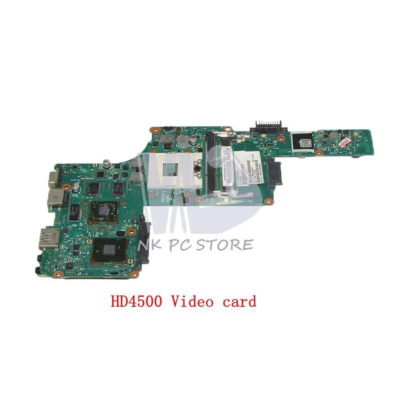 NOKOTION V000245110 1310A2338522 For Toshiba Satellite L630 Laptop motherboard HM55 DDR3 HD4500 GPU BM10G-6050A2338501-MB-A03 v000288100 gl10fg 6050a2492401 mb a03 fit for toshiba satellite p870 p875 motherboard 100