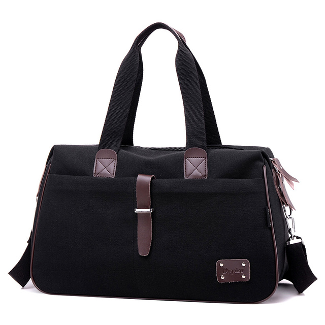 2017 New Canvas Men Travel Bags Large Capacity Hand Luggage Bags Men Tote Canvas Women Weekend Bags Multifunctional Travel Bags