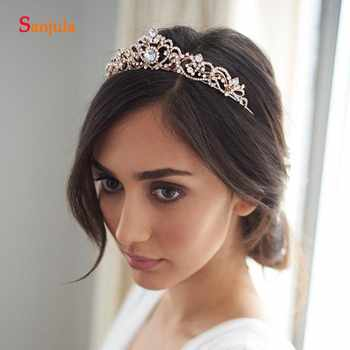 2019 New Hot Bridal Tiaras With Crystal Shinny Princess Party Crowns Wedding Head Accessory T068 - DISCOUNT ITEM  7% OFF All Category