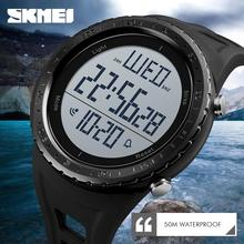 SKMEI для мужчин спортивные часы Открытый Одежда заплыва Дайвинг цифровые часы электронные наручные часы водонепроница…
