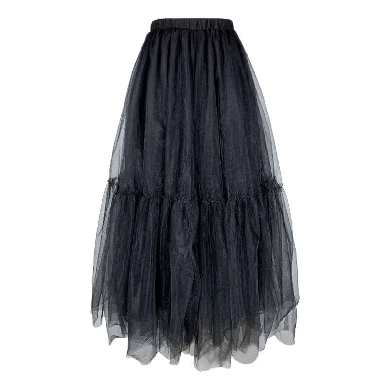 Women's Spring Waist Kenvy Pleated Stitching Skirt Brand High end Fashion Elegant Luxury High zzEYTqw