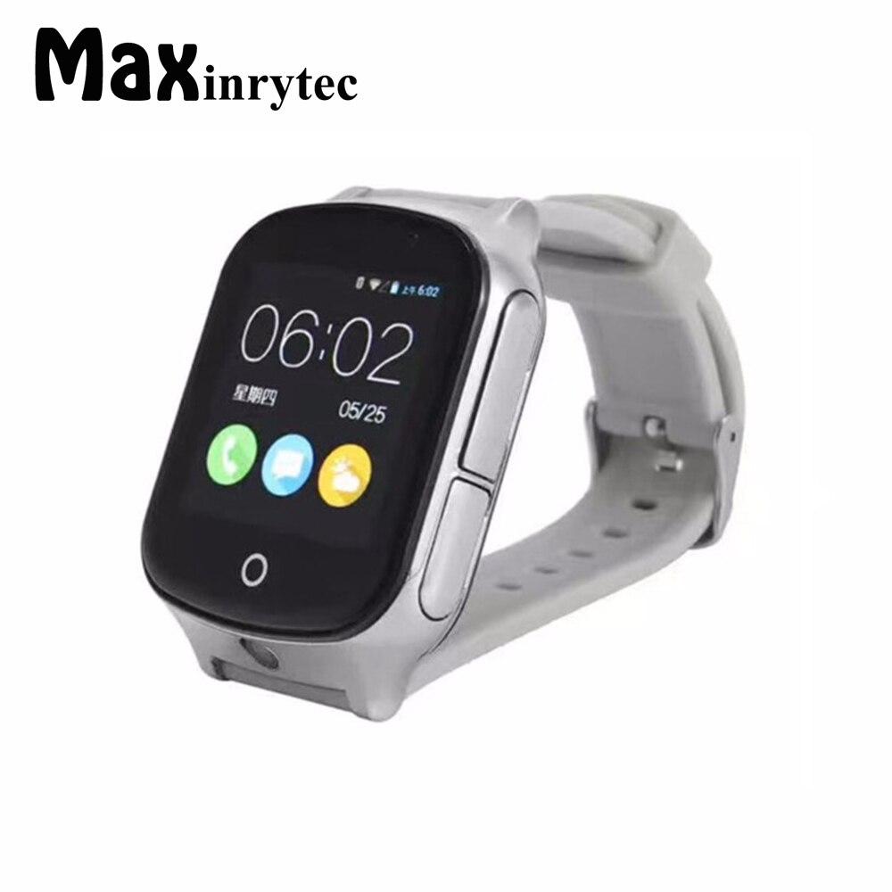 3G GPS montre pour enfants enfants Tracker Smartwatch avec carte SIM WIFI SOS LBS caméra santé podomètre appel d'urgence A19