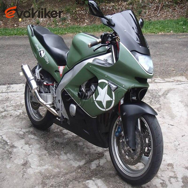 Commande personnalisée + vert ABS carénage Moto pour YZF600R 1997-2007 1998 1999 2000 2001 2002 2003 2004 2005 2006 Carénage H2