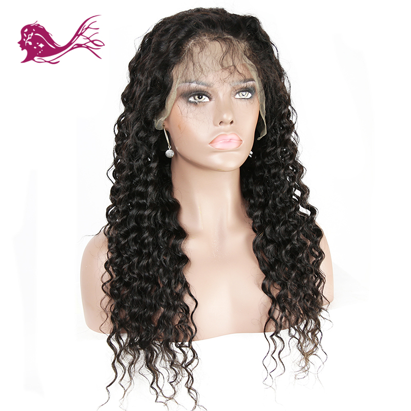 EAYON HAIR Brazilian Loose Deep Wave Wigs Lace Front Human Hair Wigs For Black Women Pre