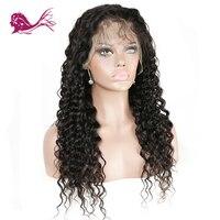 EAYON волос бразильский свободные глубокая волна парики Синтетические волосы на кружеве натуральные волосы парики для черный Для женщин пред