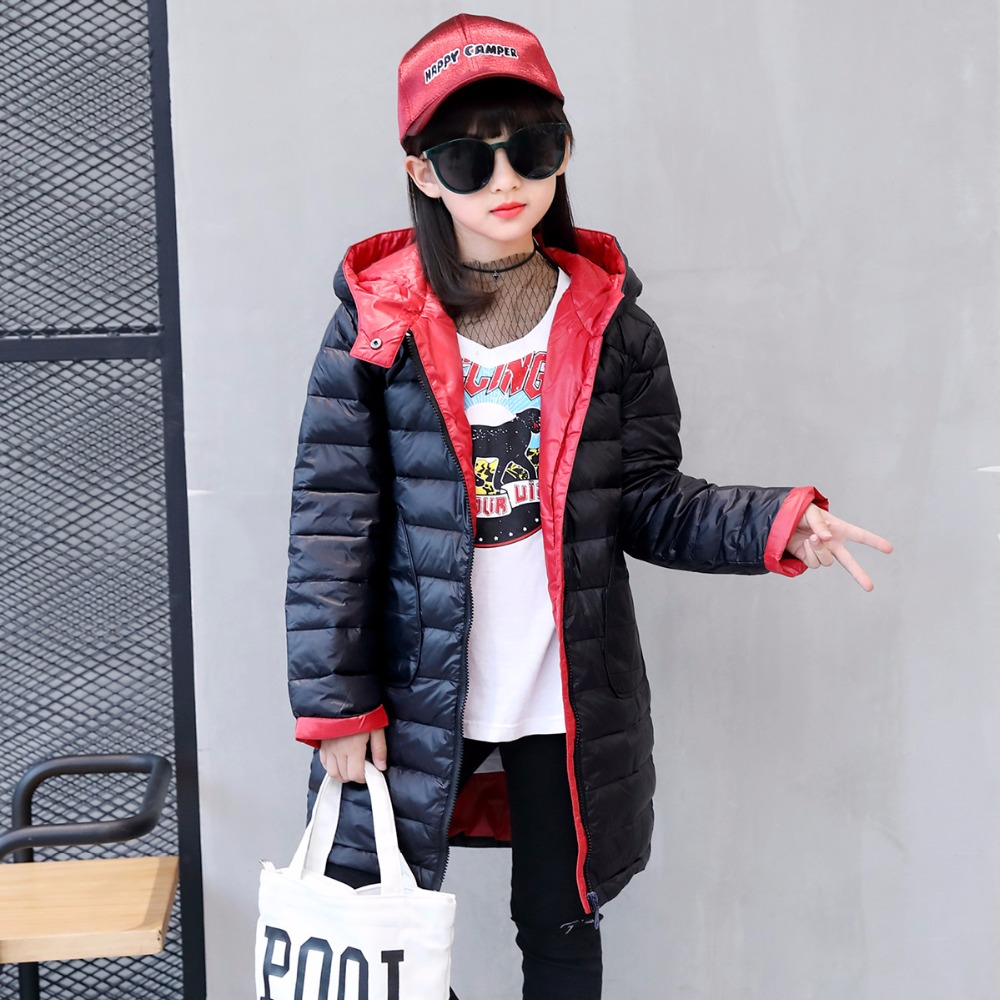 winter jackets girls down jacket for girl	baby 100% thick duck Down Kids Outerwears for cold -30 degree jacket 30# new 2017 winter baby thickening collar warm jacket children s down jacket boys and girls short thick jacket for cold 30 degree