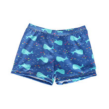 Summer Beach Swimming Shorts For Boys Casual Short Niño Ealstic Swimtrunk Cartoon Whale Print Swim Boys Shorts шорты для мальчи(China)