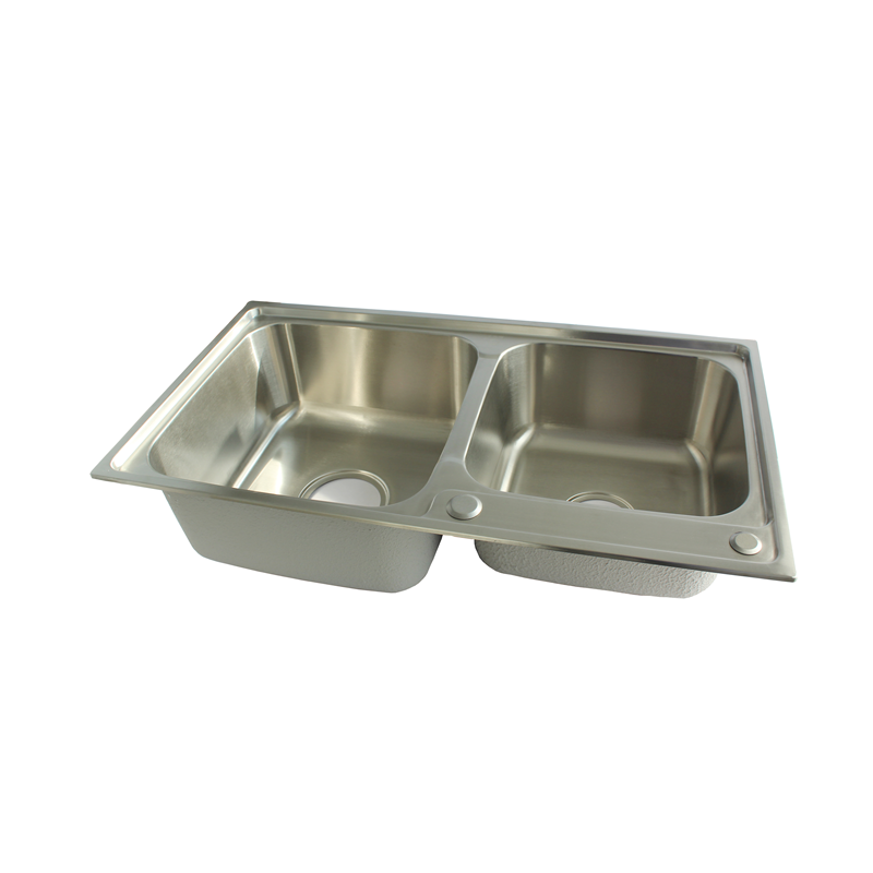 silver pingtang sus304 stainless steel kitchen sink slot